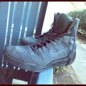 Nike Kobe 9 IX Elite Fade Black  Sz 11 869455-002
